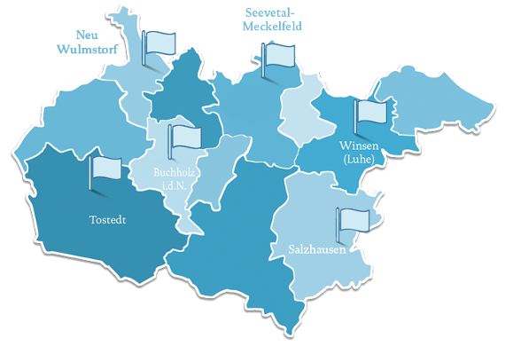 Standorte der Reso-Fabrik